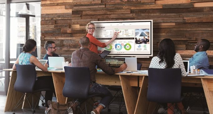 Samsung Flip, una alternativa a la Surface Hub de Microsoft