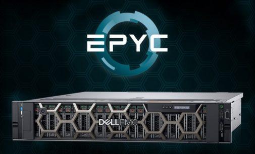 Nuevos Dell EMC PowerEdge con procesadores EPYC de AMD