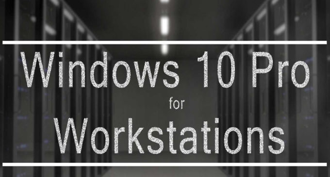 "Windows 10 Pro for Workstations tendrá un modo de ""rendimiento máximo"""