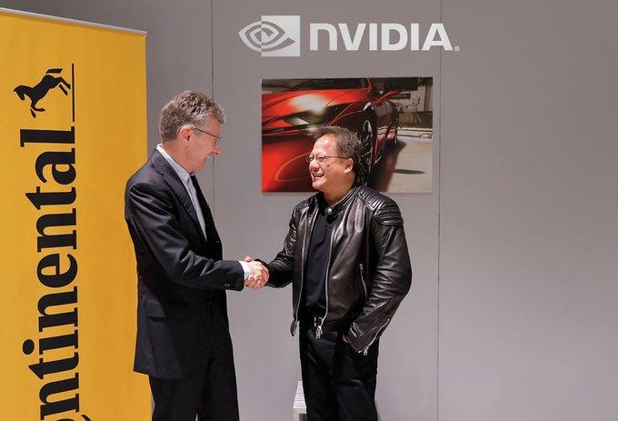 Nvidia ayudará a Continental en el desarrollo de su plataforma para coche autónomo