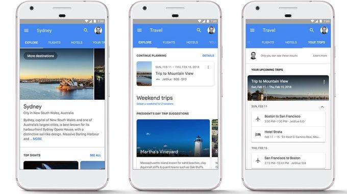 Google, a por Booking: ahora deja reservar vuelo y hotel desde los resultados de búsqueda