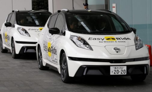 Nissan empezará a probar su servicio de taxis autónomos