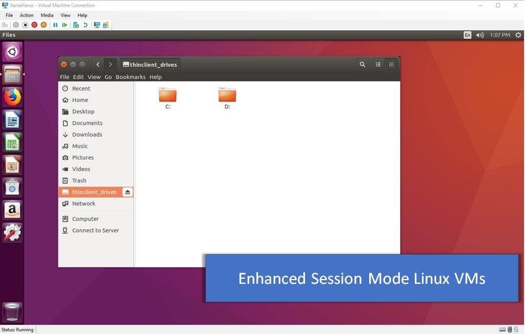 virtualizar Linux en Windows 10