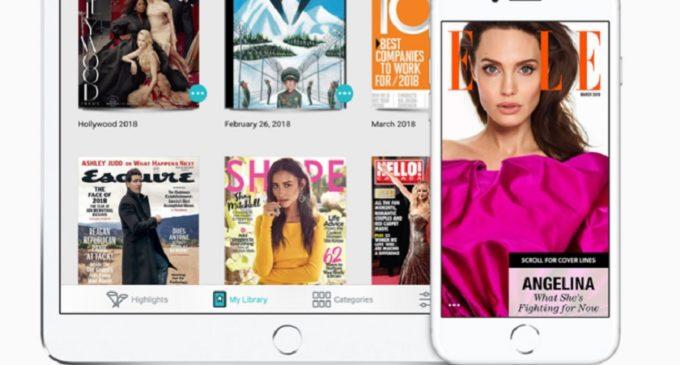 Apple comprará Texture para mejorar News