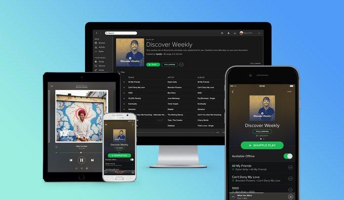 Spotify planea debutar en la Bolsa de Nueva York a principios de abril