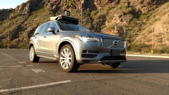 SuspendidoSuspendido el programa de conducción autónoma de Uber tras un atropello mortal el programa de conducción autónoma de Uber tras un atropello mortal en Arizona