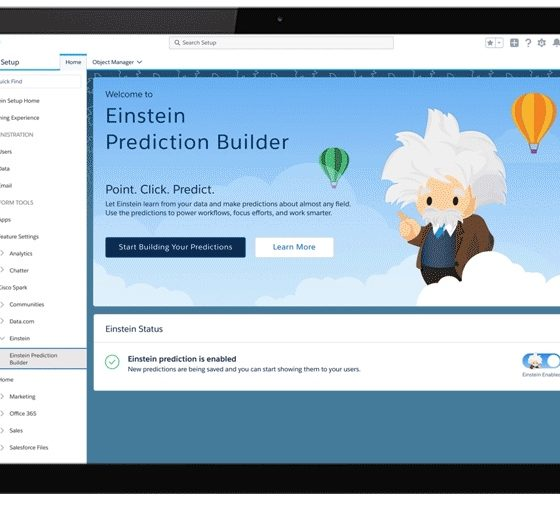 Desarrollo de apps de Inteligencia Artificial gracias a Salesforce myEinstein