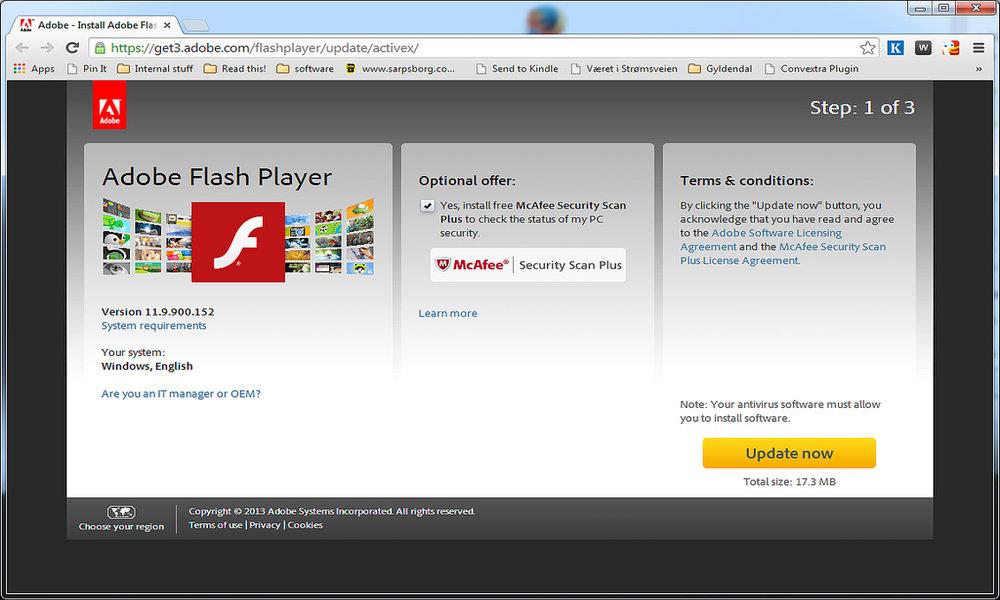 El uso de Flash en la web sigue en descenso: está ya sólo en el 4,9% de las páginas