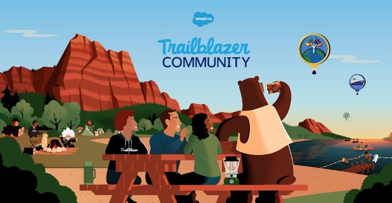 Conviértete en un trailblazer en Salesforce Basecamp Madrid