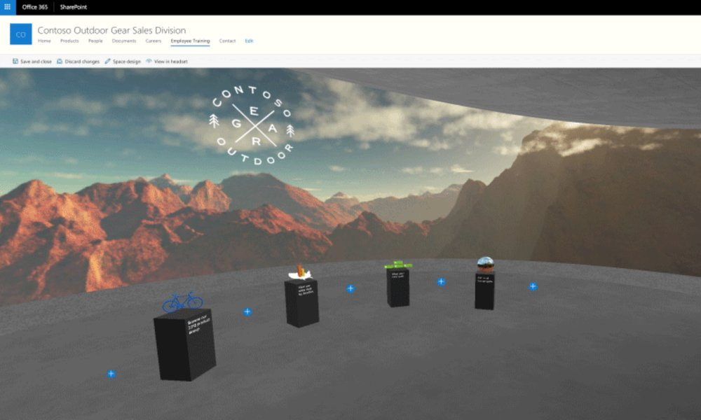 Microsoft lanza SharePoint Spaces para facilitar la creación de experiencias de realidad mixta
