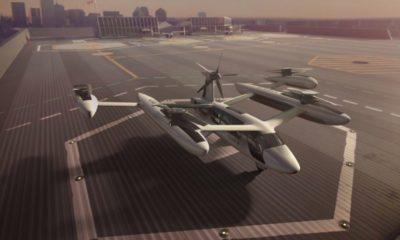 Uber abrirá un centro de investigación sobre taxis voladores en París