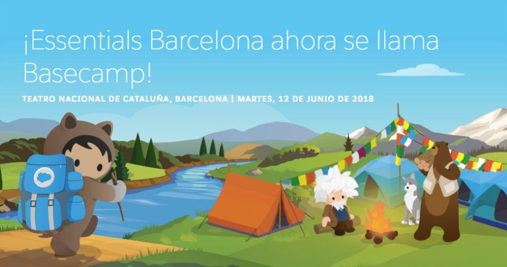 Si te perdiste Salesforce Basecamp Madrid, tienes otra oportunidad con Basecamp Barcelona