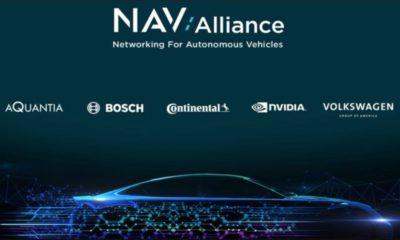 Nace una alianza para desarrollar una red para vehículos autónomos
