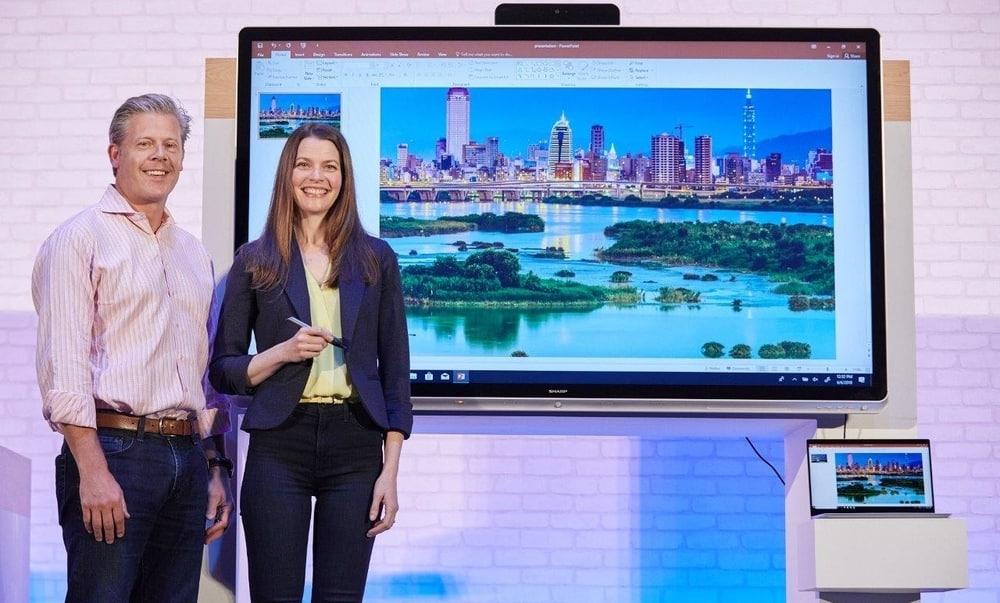 Microsoft presenta Collaboration Displays y Windows IoT Core Services en Computex