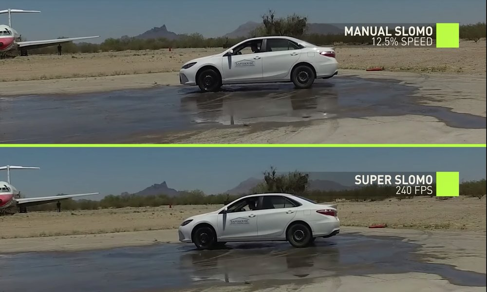 Investigadores de Nvidia emplean deep learning para crear vídeo en slow-motion