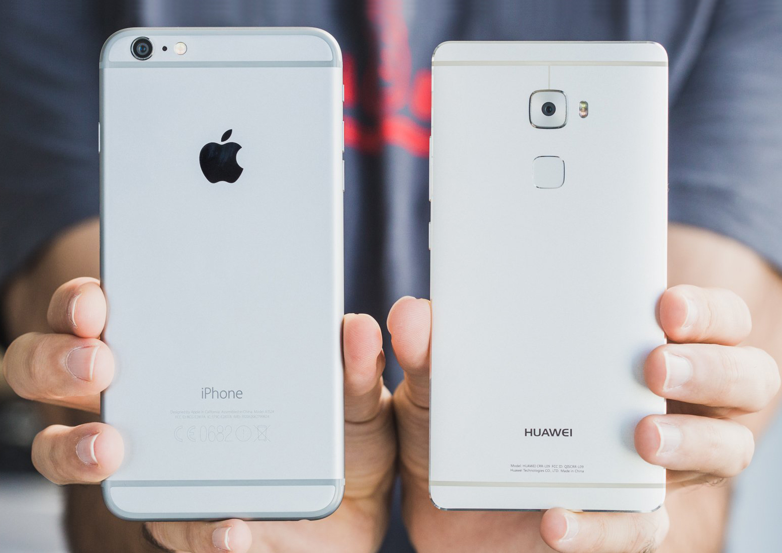 Huawei superara ventas Apple iPhone