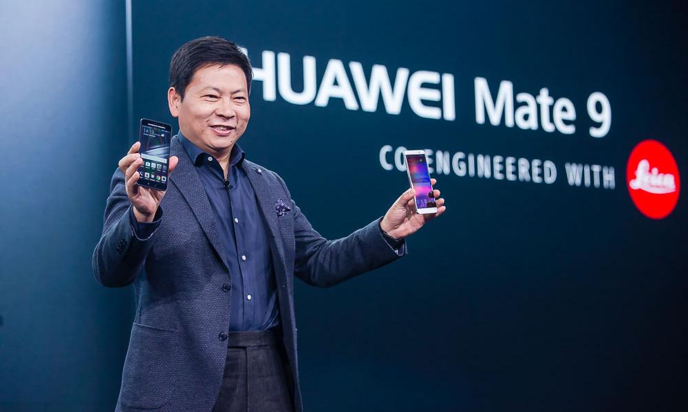 Huwaei CEO Richard Yu Chengdong