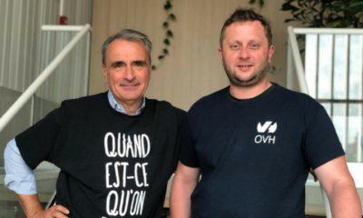 Michel Paulin y Octave Klaba
