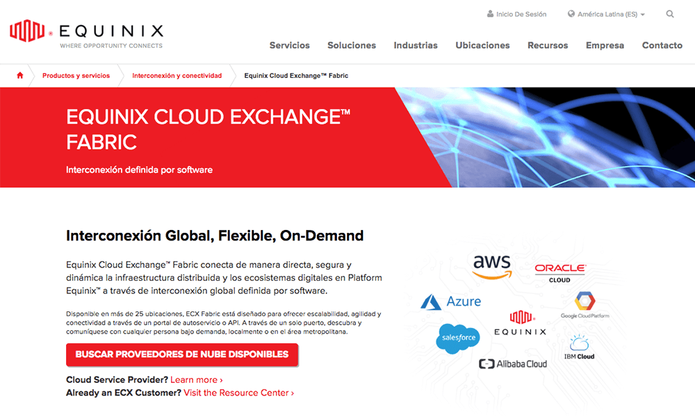equinix-cloud-exchange-fabric