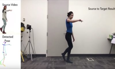 Investigadores alteran vídeos con IA para simular que quienes aparecen en ellos pueden bailar