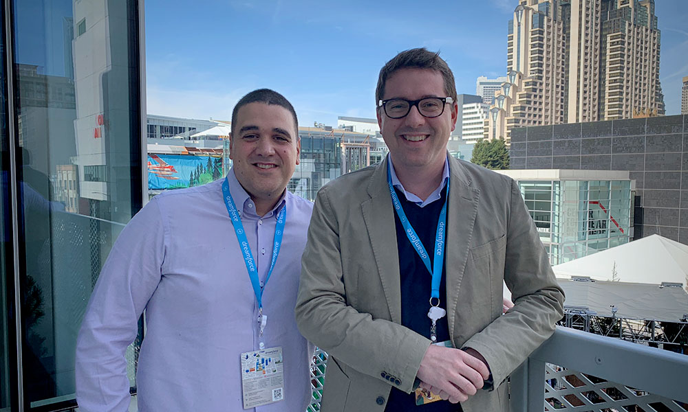 Rubén Mariscal, director de Business Intelligence de Maxxium España, e Iván Seldas, information management manager de Maxxium España