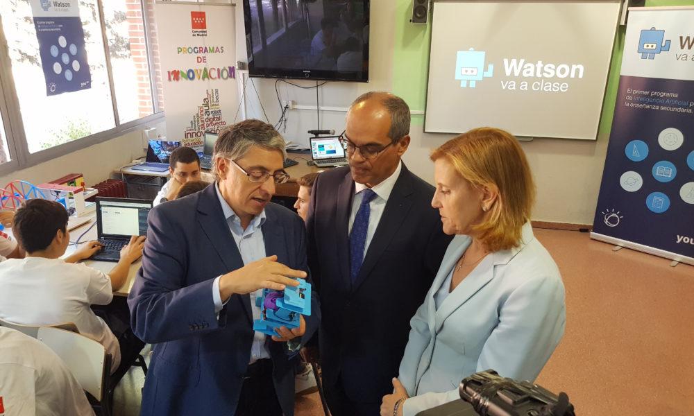 IBM Watson Comunidad Madrid IES Suanzes