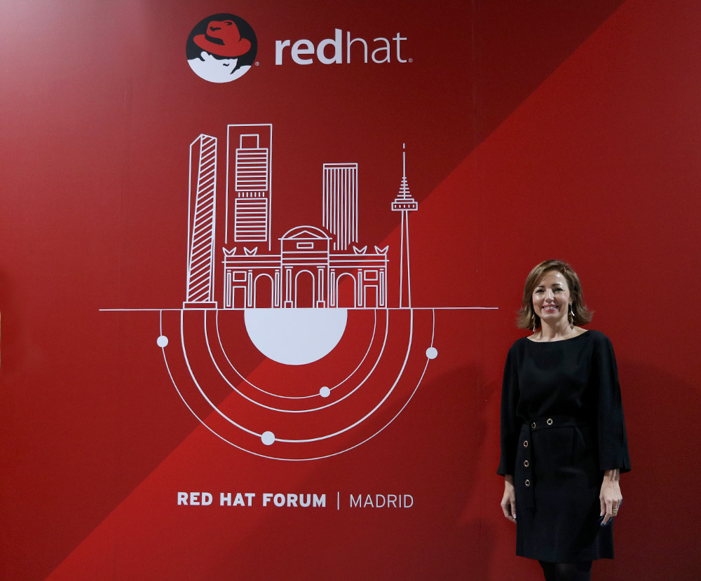 Julia Bernal, country manager para España y Portugal de Red Hat, habla del Red Hat Forum España 2018