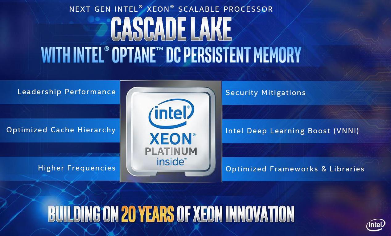 Xeon Cascade Lake-AP
