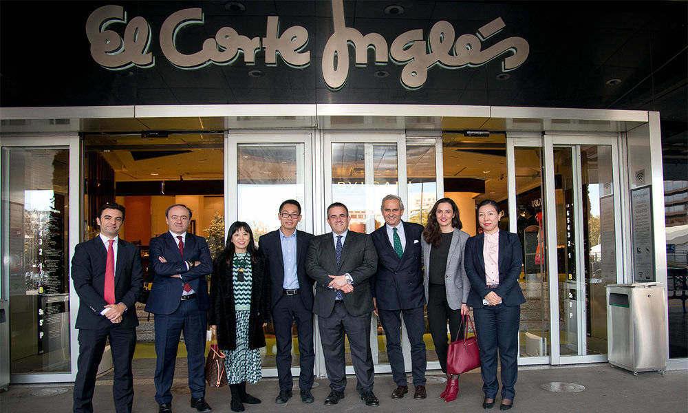 El Corte Inglés firma una alianza global con la china Alibaba — Internet