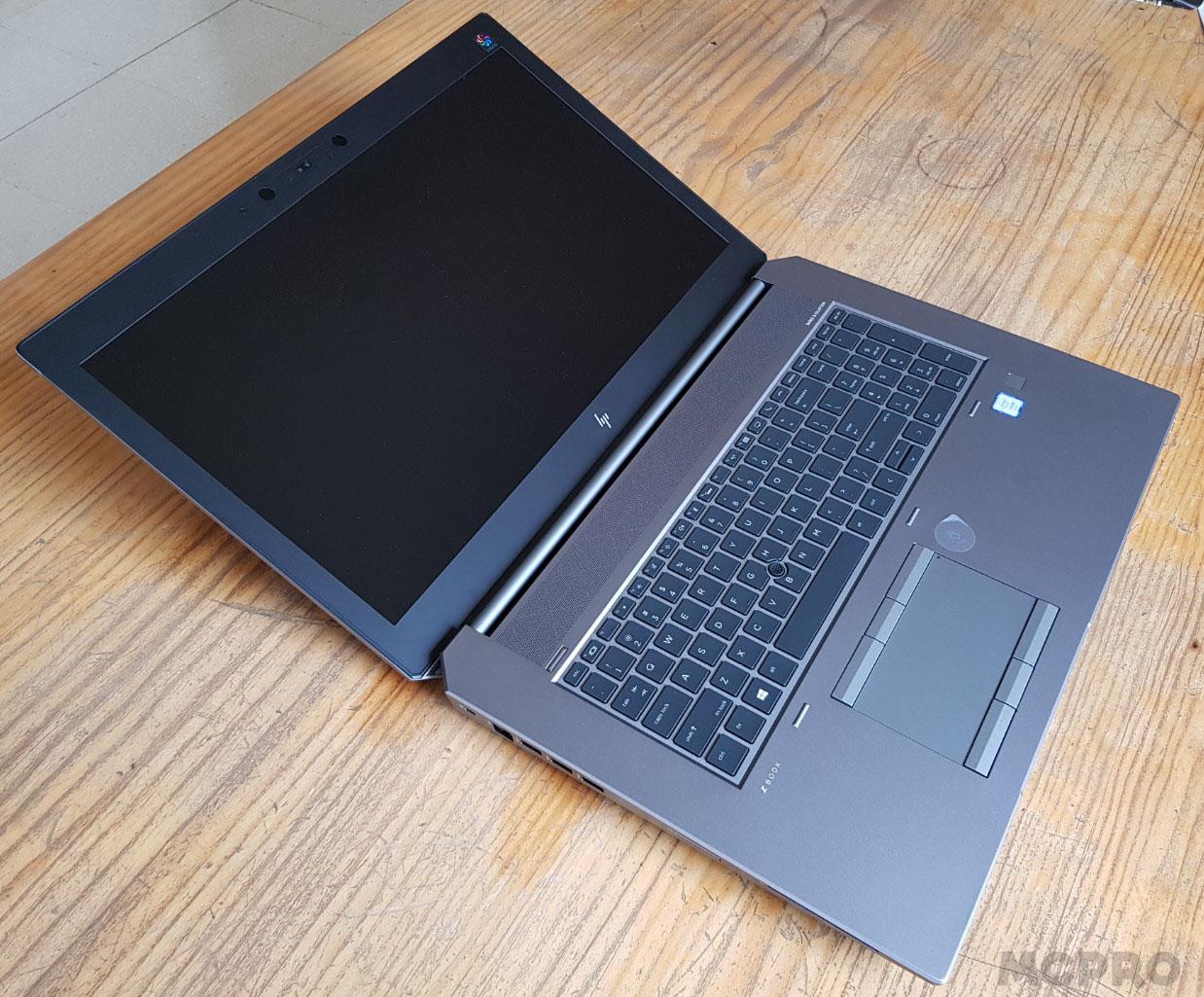 HP ZBook 17 G5: workstation móvil para olvidarte de sobremesas 31