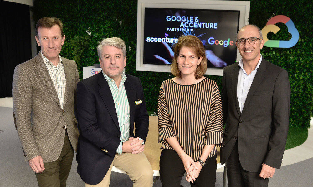 Accenture y Google Cloud ponen en marcha Cloud Business Group en España, Portugal e Israel
