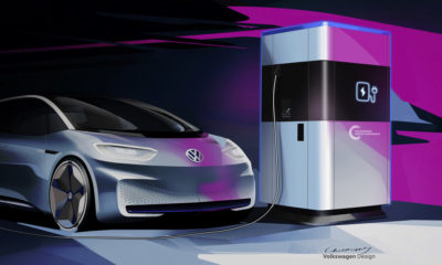 Volkswagen da los primeros detalles de su estación de carga móvil para vehículos eléctricos