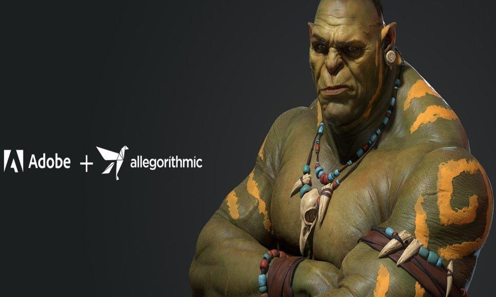 Adobe se hace con la compañía de desarrollo de software de texturas 3D Allegorithmic