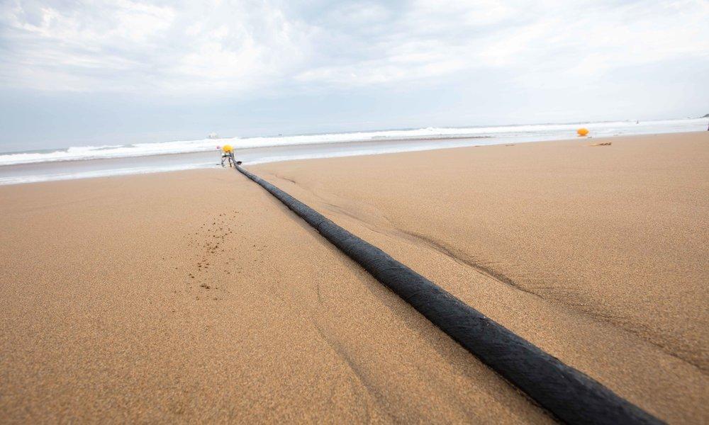 Telefónica dejará que Amazon use su cable submarino MAREA, que une España y EEUU