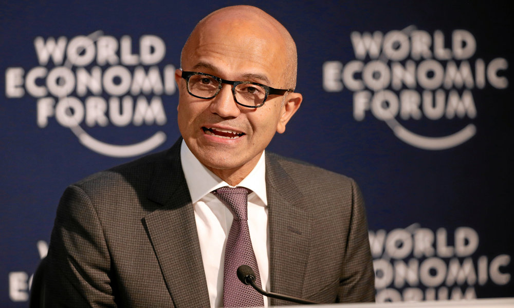 El CEO de Microsoft, Satya Nadella
