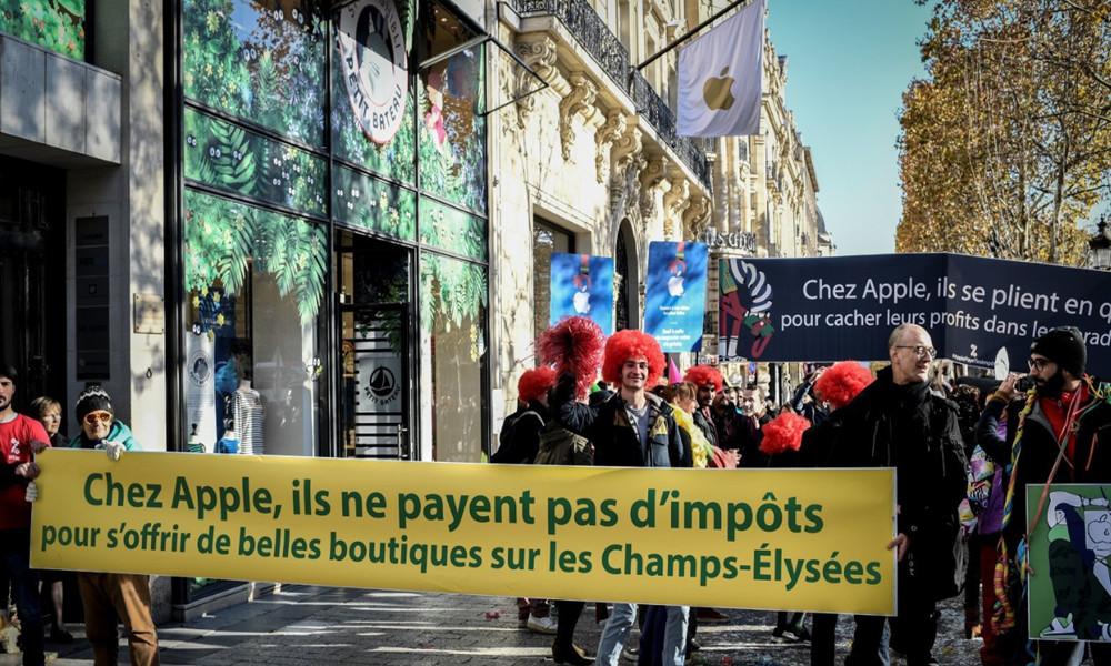 Apple impuestos Europa