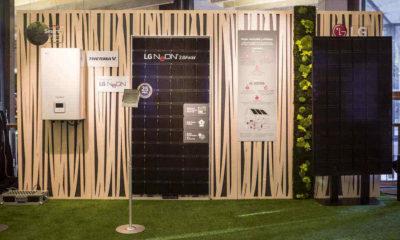 LG trae a España sus baterías y paneles de energía solar