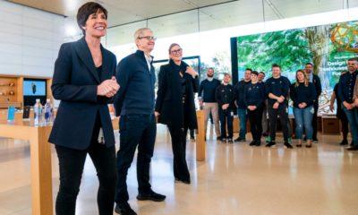Angela Ahrendts, Vicepresidenta de retail de Apple, dejará la compañía en abril