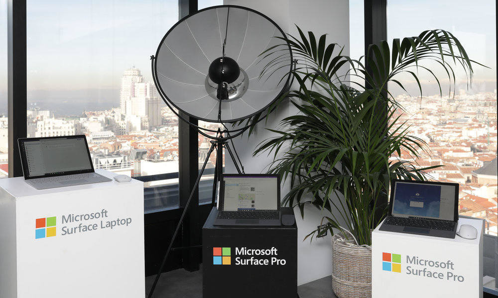 Microsoft comienza la venta en España de Surface Pro 6, Surface Laptop 2 y Surface Studio 2