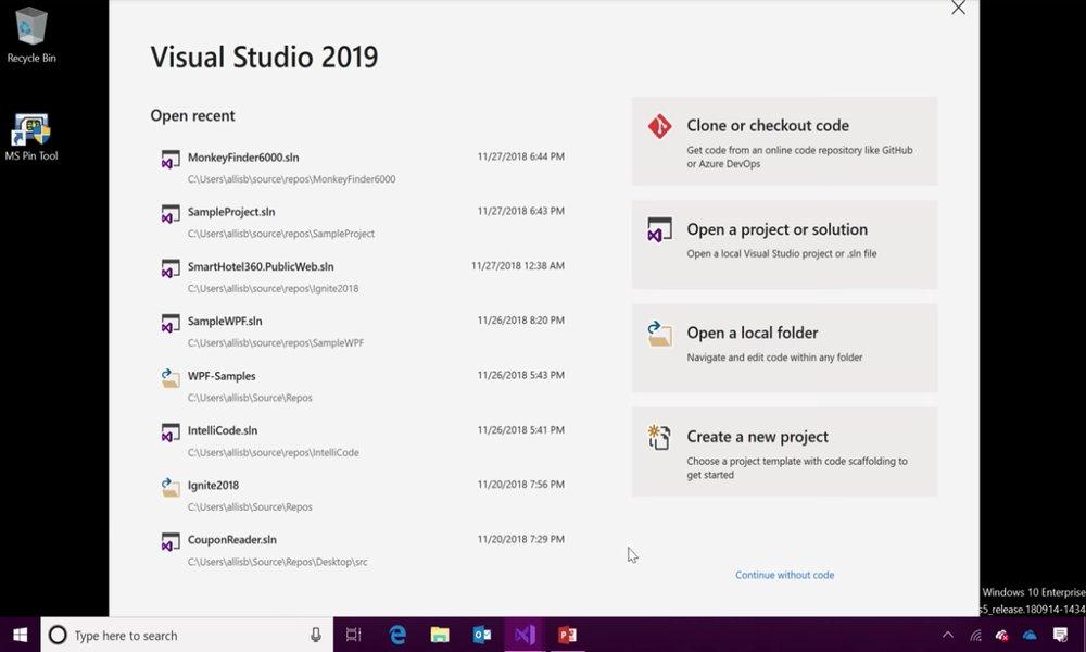 Microsoft lanzará Visual Studio 2019 el próximo 2 de abril
