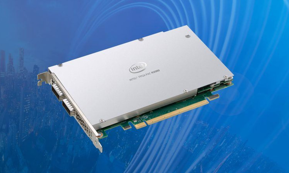 tarjeta aceleradora 5G Intel