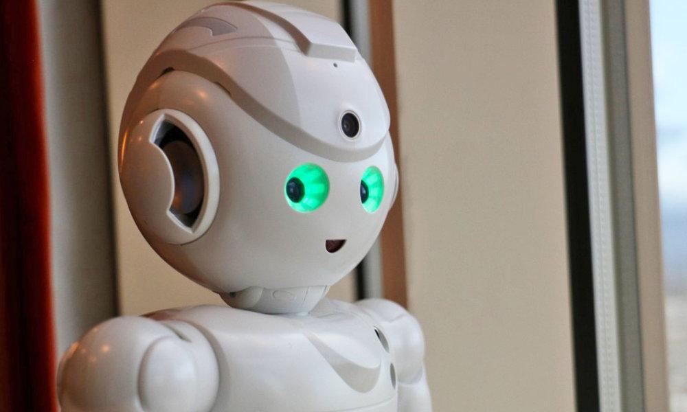 robot con Alexa