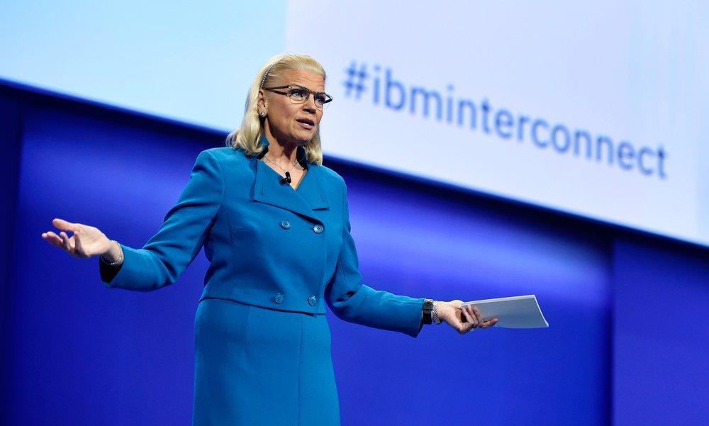 Ginni Rometti, presidenta de IBM