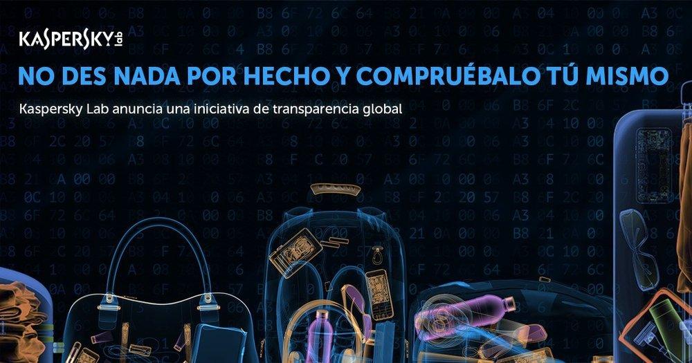 Iniciativa transparencia Kaspersky
