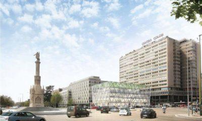Tesla o Microsoft: ¿quién será el próximo inquilino del edificio Axis de Colón en Madrid?