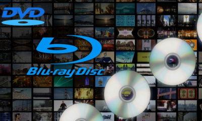 ventas de DVD y Blu-ray