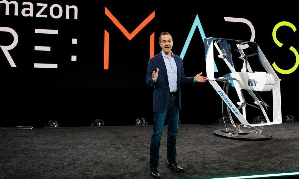Todas las mejoras tecnológicas que Amazon ha presentado en su evento re:MARS
