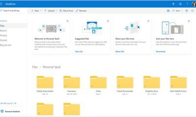 Microsoft anuncia OneDrive Personal Vault, para mejorar la protección de archivos sensibles
