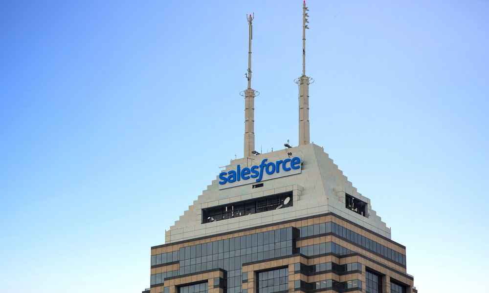 Los ingresos de Salesforce suben un 24% interanual