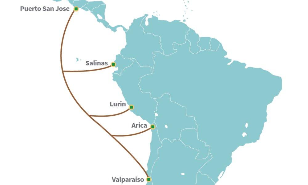 Telefónica se alía con su rival América Móvil para desplegar un cable submarino en el Pacífico